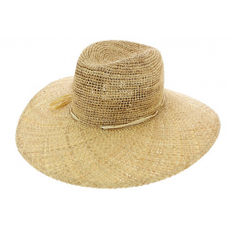 Chapeau de protection du soleil - Paille sable