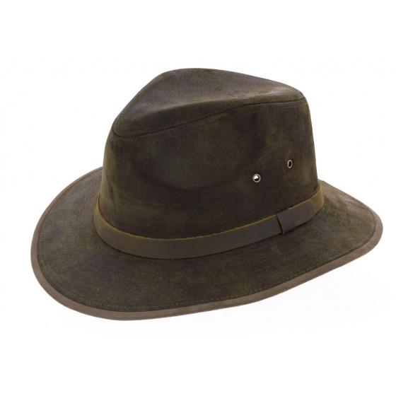 Traveller Hat Maron Vert Flinder - Jacaru