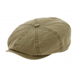 Hatteras Cap Organic Cotton Khaki Stetson