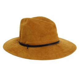Chapeau traveller suédine rust - Rigon Headwear