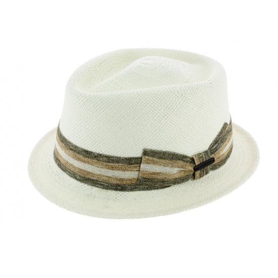 Trilby Hat Small Brim Chico Panama Hat - Seeberger