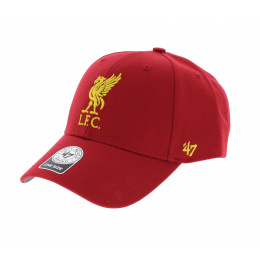 Casquette baseball Liverpool FC rouge - 47 Brand