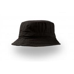 Chapeau Bob coton Forever noir - Atlantis