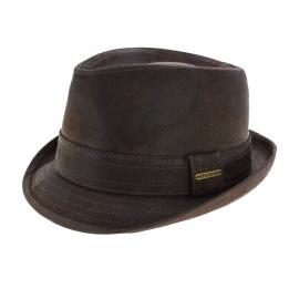 Chapeau trilby cuir- Radcliff