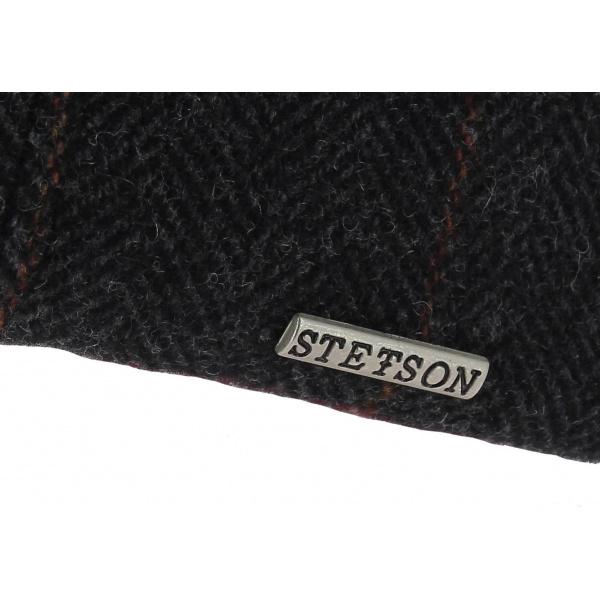 Casquette Plate Stockton Laine Anthracite - Stetson