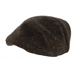 Wool Monhagan Duck Beak Cap - Hanna Hats