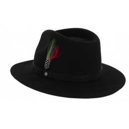 Stetson Yutan Flexible Hat Black