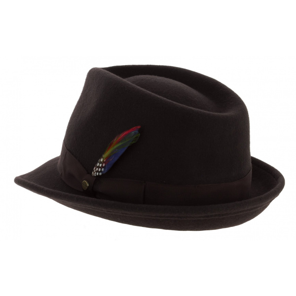 Elkader Felt Hat Brown - Stetson