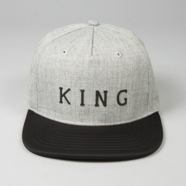 Staple Snapback Cap -KING APPAREL