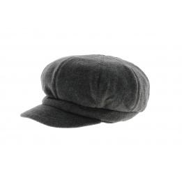 Grey Polar Gavroche Cap