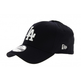 Casquette Baseball LA New Era 39Thirty League Bas Bleu Marine