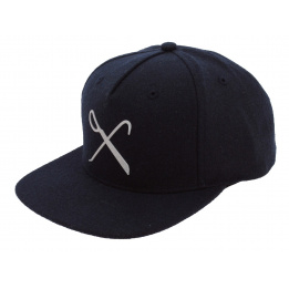 Casquette Plate Snapback Hard Graft Marine Laine King Apparel