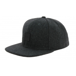 Snapback Sterling Grey Wool Cap - King Apparel