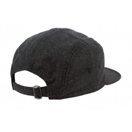 The Richmond Strapback Cap The Richmond Wool Grey - Coal