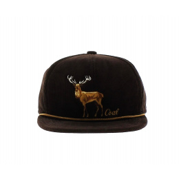 Casquette visière plate - The Wilderness - Coal