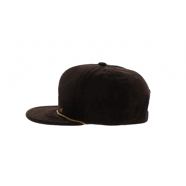 Casquette Stag visiere plate - The Wilderness - Coal