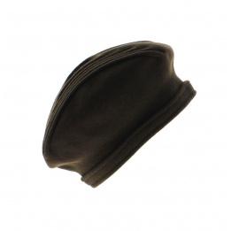 Beret Berthe Laulhère -Marron chocolat