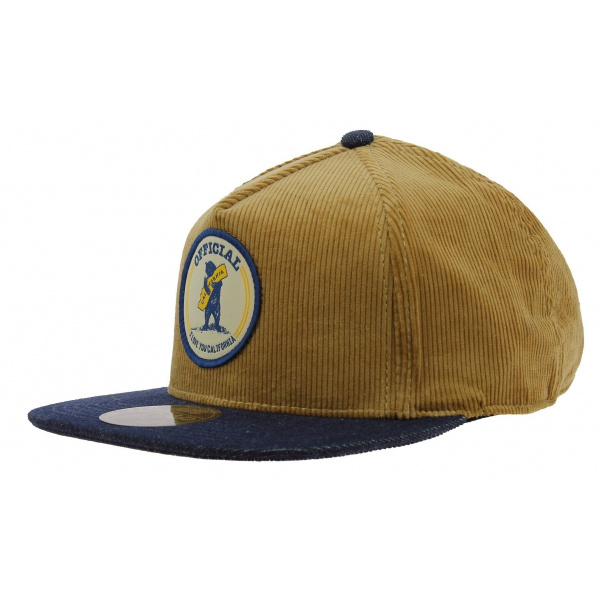 Casquette Strapback Cali Bear Camel - Official