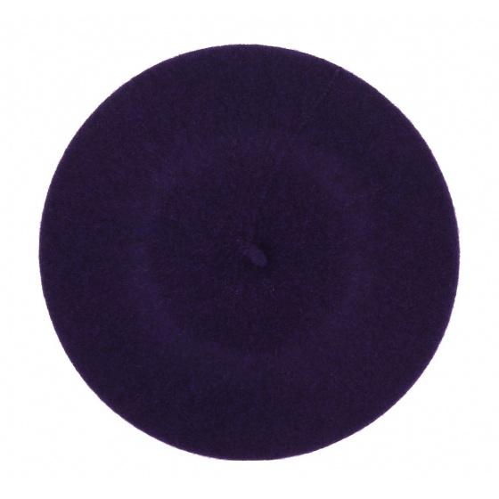 Béret violet orchidée