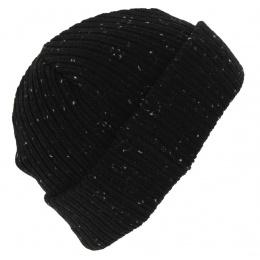 Fisherman Cuff Acrylic Mixed Cap Black - New Era