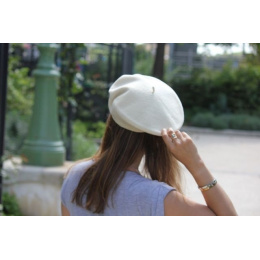 The Classic Cream French Beret- Le Béret Français