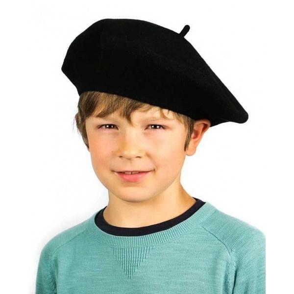 Beret Enfant Noir  Beret Enfant Noir  Beret Enfant Noir 5055140b32c