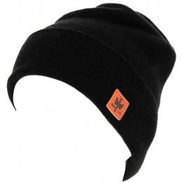 Bonnet à Revers Dulce  Noir -Pipolaki