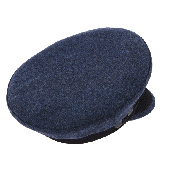 Casquette Marin Camaret Laine Bleu - Mtm