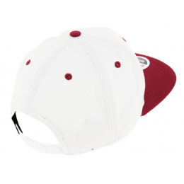 Casquette Snapback FLock Logo Coton Rouge & Blanc - New Era