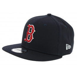 Casquette Snapback Boston Red Socks Coton Marine - New Era