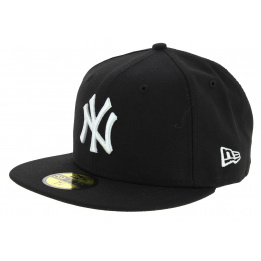 Cap Fitted Basics Yankees NY Black Wool - New Era