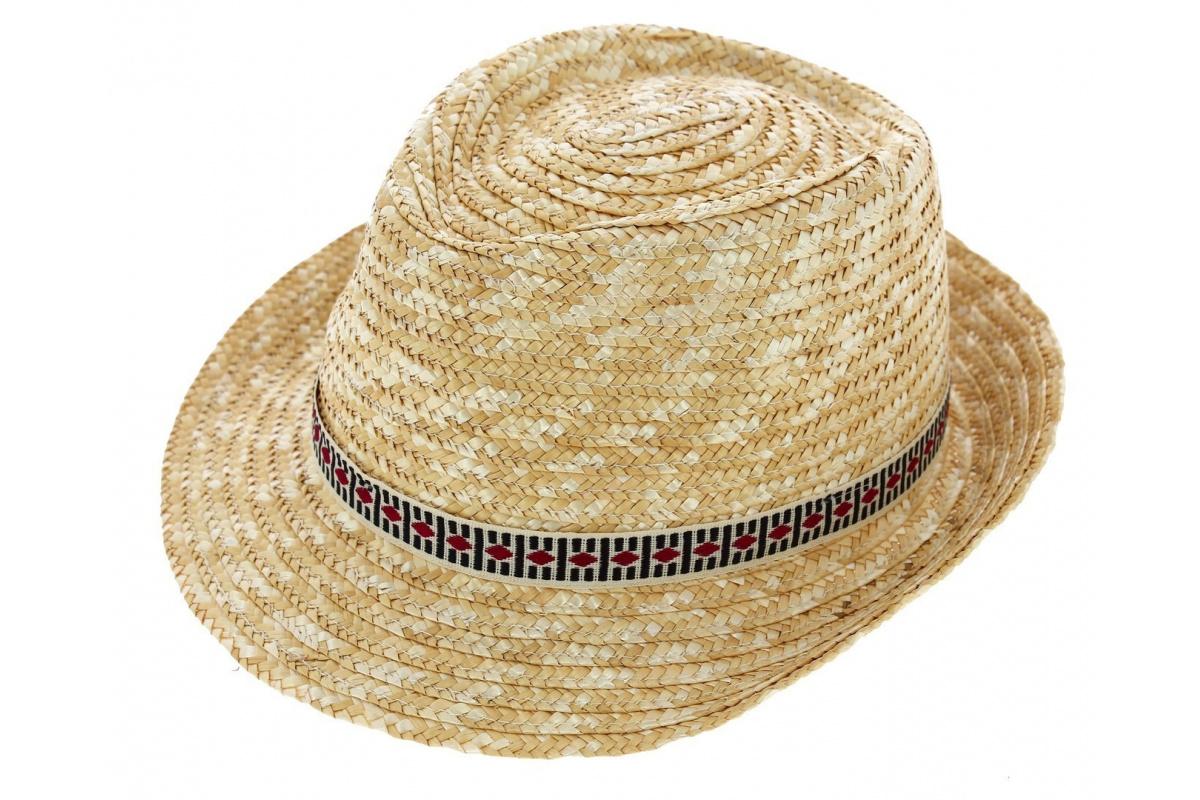 Chapeau De Paille Denver Naturel Chapeau Traclet