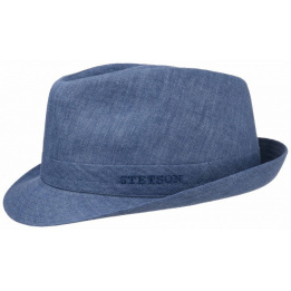 Chapeau trilby Stetson tissu