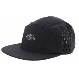 Casquette Strapback 5 Panels The Peace Polyester Noir - Coal