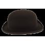 NewPort Melon Hat Felt Brown - Wegener