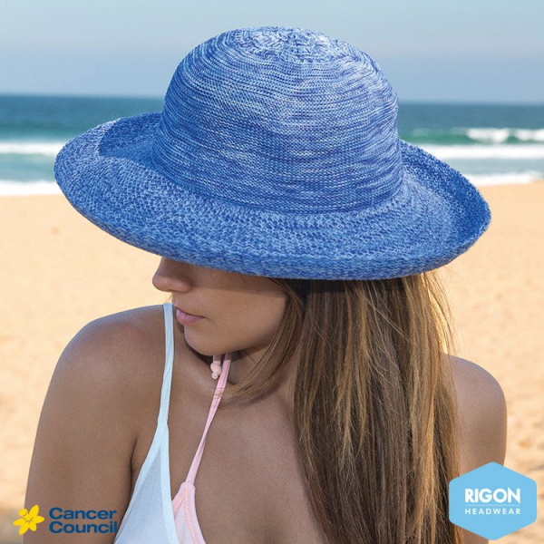 Breton Style Classic Blue Hat