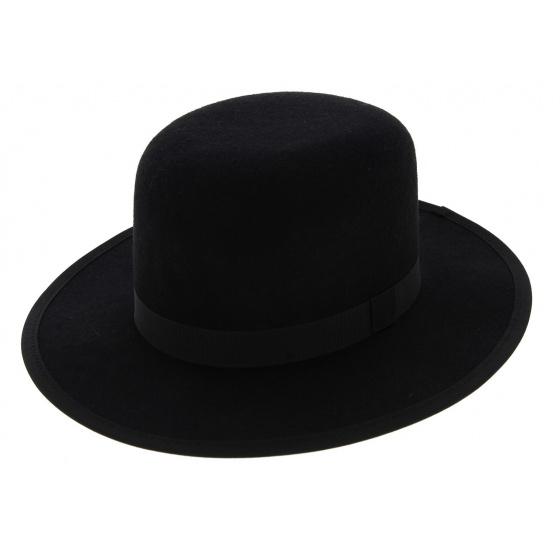 Chapeau MiddleWest Feutre Laine Noir - Traclet