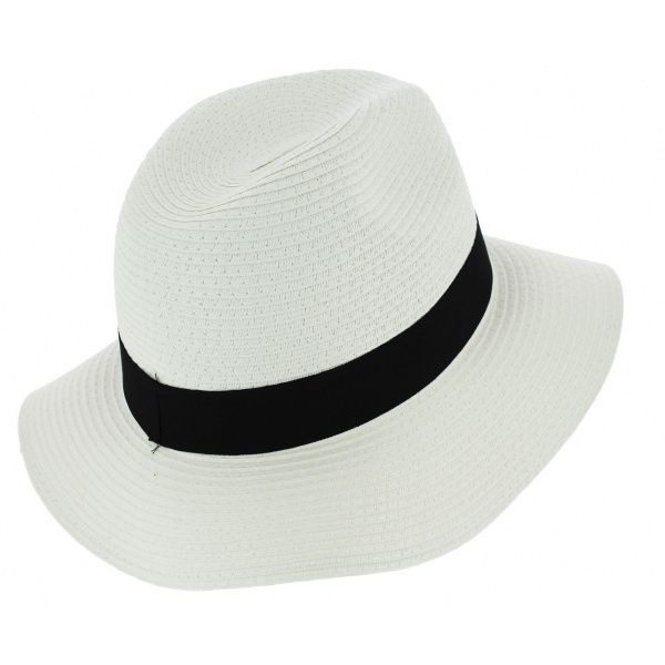 Traveller Acapulco Straw Hat White Paper - Traclet