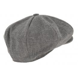 Casquette Irlandaise Kilkenny Laine Vierge Gris - Hanna Hats