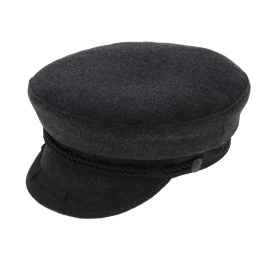 Casquette Marin Prinz Heinrich Laine Anthracite - Traclet