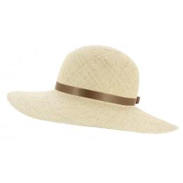 white hat trilby straw child