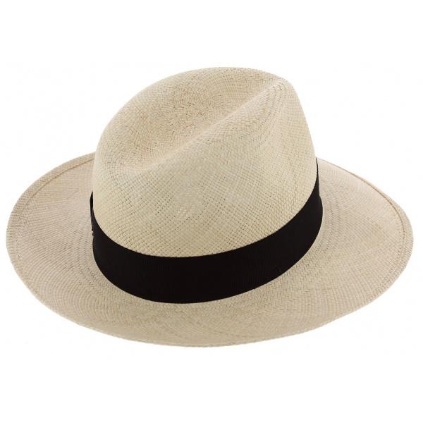 Chapeau Fédora NewMan Panama Naturel - Borsalino