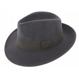 Fedora Hats Wool Felt Vanador Anthracite- Traclet