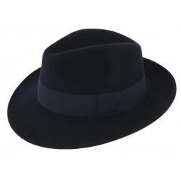 Fedora Hat Felt Waterproof Wool Felt Vanador Marine - Traclet