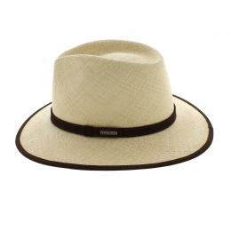 Chapeau en Paille Groton Panama Stetson