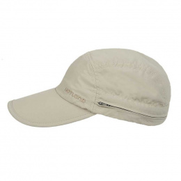 Janou UPF50+ cap beige neck cover - Hatland