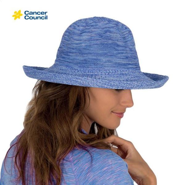 Chapeau Style Breton Classic Bleu - Rigon Headwear
