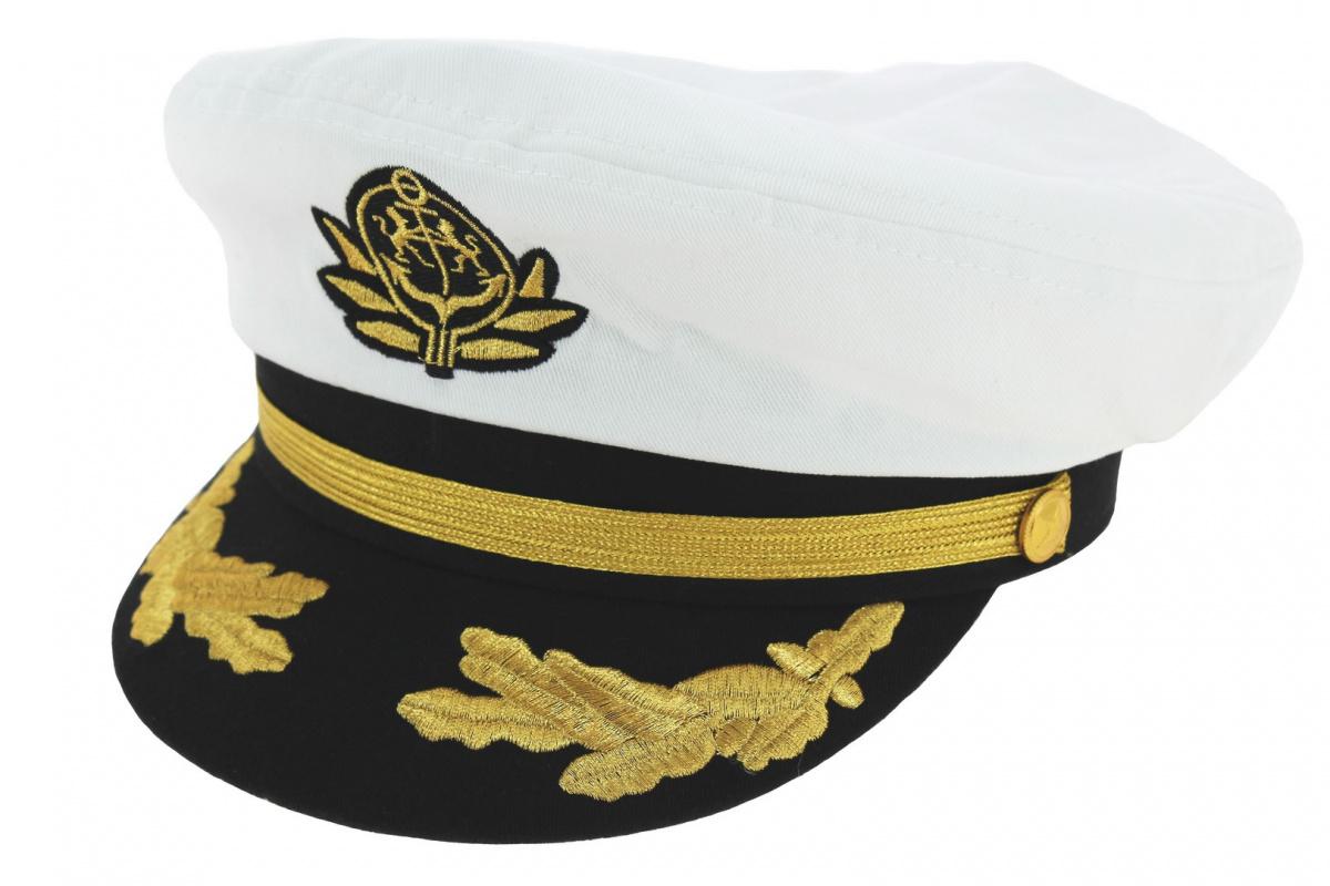 Casquette marin blanche