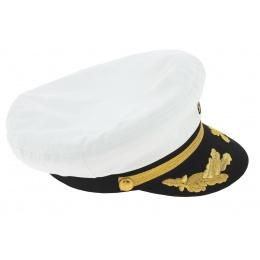 Casquette de Capitaine blanc - Traclet