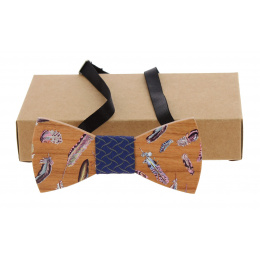 Tongario Maple Wood Bow Tie - Traclet